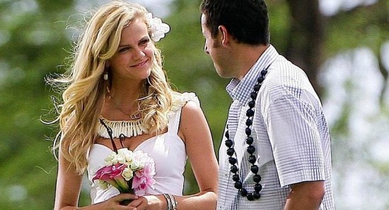 Brooklyn Decker doing her acting thing