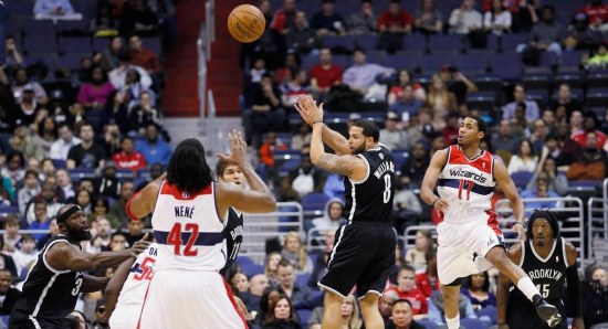 Brooklyn Nets in action