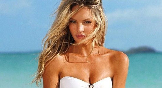 Candice Swanepoel is one of the top models around