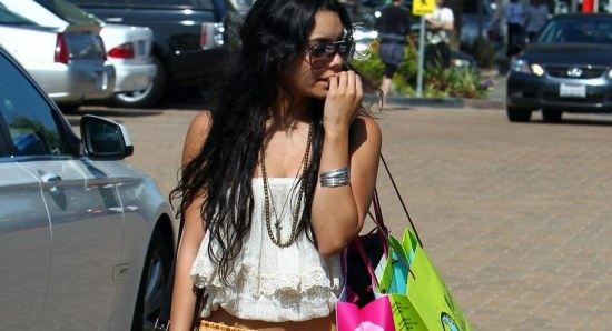Vanessa Hudgens is a big fan of the Boho look