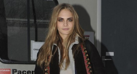 Cara Delevingne at an event