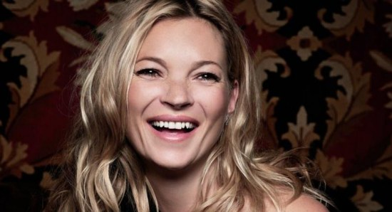 Kate Moss attended a show