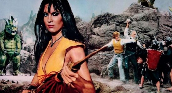 Caroline Munro has seen and done it all