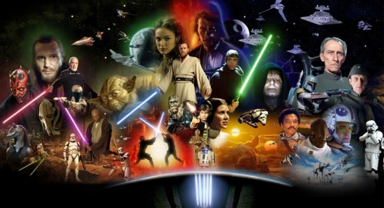 Star Wars character poster