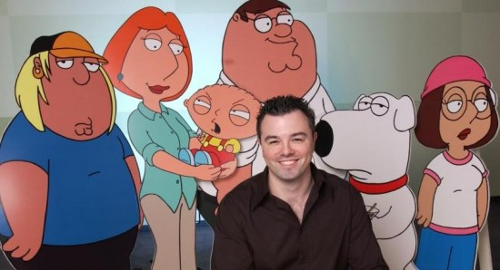 Seth MacFarlane is best known for Family Guy