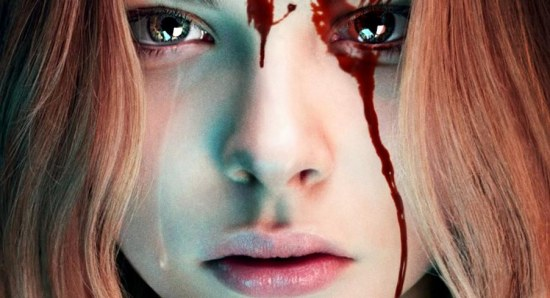 Chloe Moretz on the 'Carrie' Poster