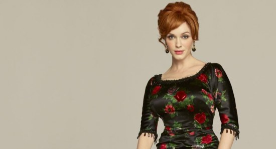 The actress is best known for her role as Joan Holloway in 'Mad Men'