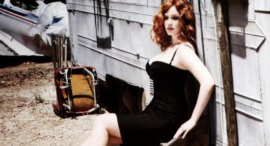Christina Hendricks worked with Philip on the movie