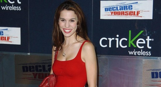 Christy Romano, beautiful lady in red