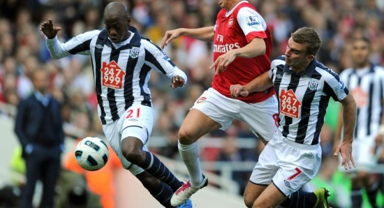 West Bromwich Albion finished 8th in the Premier League this season