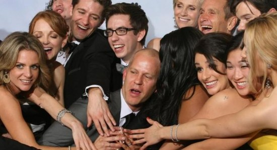 Glee has a loyal cast, crew and fan base