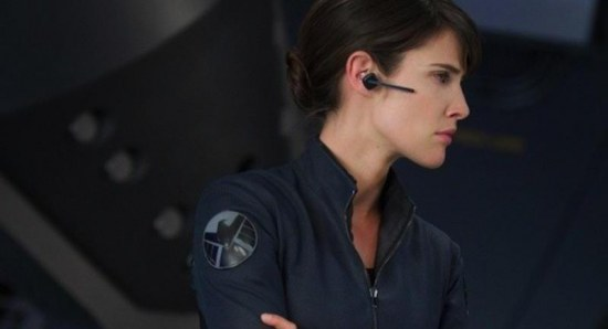 Cobie Smulders stars as Maria Hill