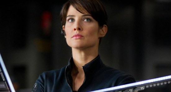 Cobie Smulders plays Maria Hill in Avengers: Age of Ultron