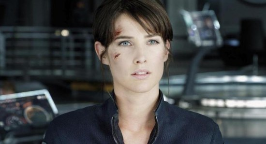 Cobie Smulders also plays Maria Hill