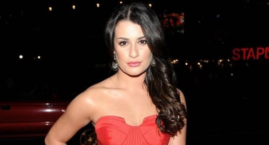 Lea Michele was delighted Cory Monteith won the role