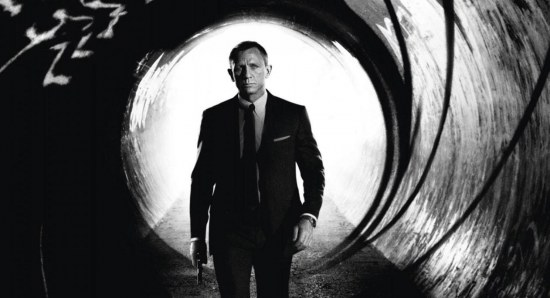 Daniel Craig plays James Bond