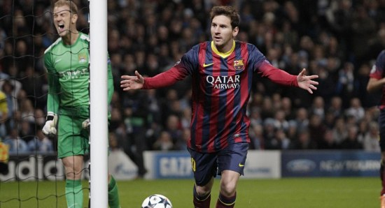 Lionel Messi is one of the best