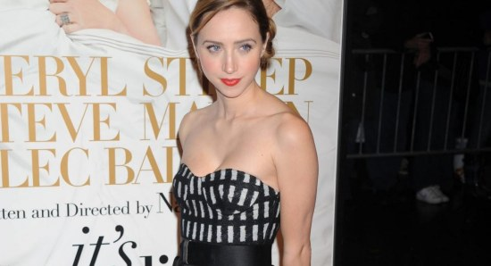 Zoe Kazan is also in the film