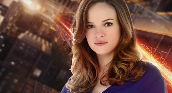 Danielle Panabaker stars in The Flash