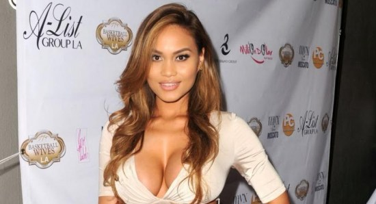 Daphne Joy in cream outfit