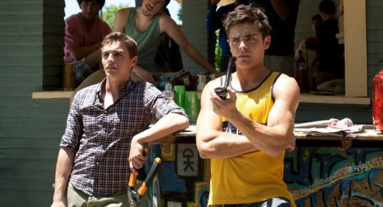 Dave Franco with Zac Efron in Neighbors
