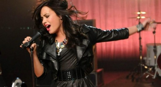 Demi Lovato doing what she does best