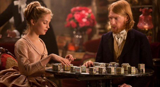 Domhnall Gleeson doing his acting thing