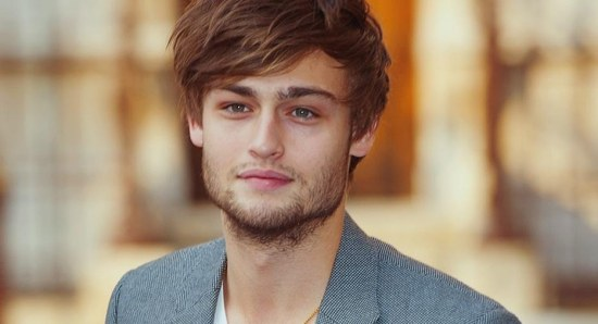 Douglas Booth is growing into a leading man