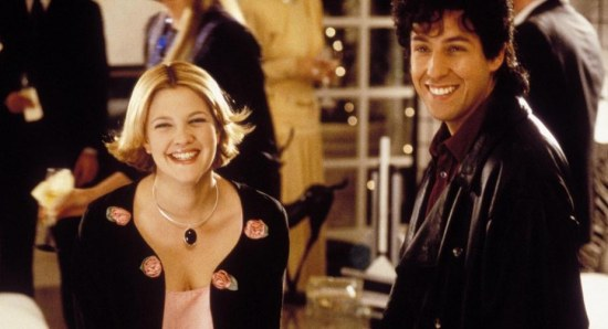 Drew Barrymore and Adam Sandler have worked together before