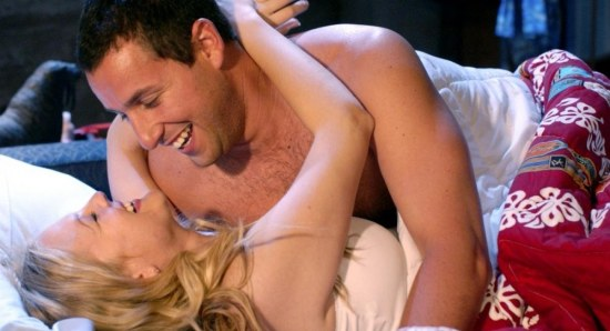 Drew Barrymore has worked with Adam Sandler in the past