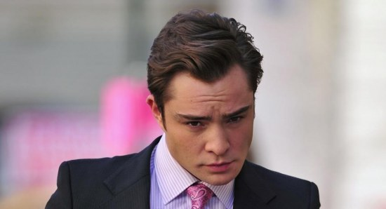 Ed Westwick looking dapper in suit