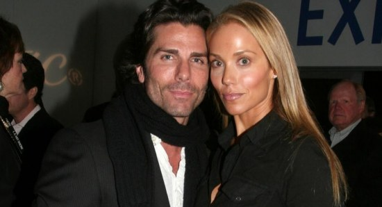 Elizabeth Berkley and husband Greg Lauren