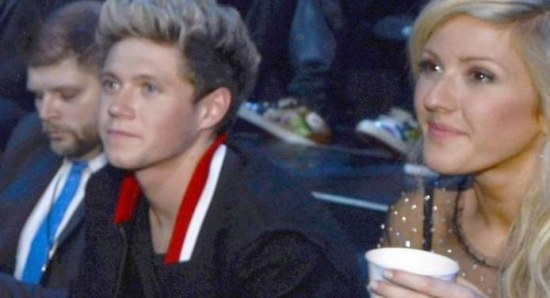 Ellie Goulding with Niall Horan
