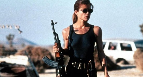 Linda Hamilton got badass for the sequel