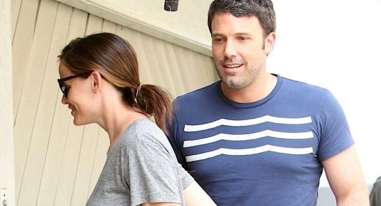 Ben Affleck with Jennifer Garner