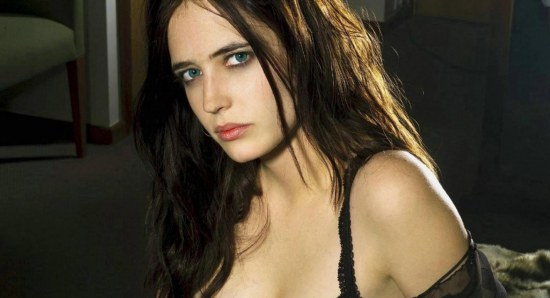 Eva Green looking great in black lingerie