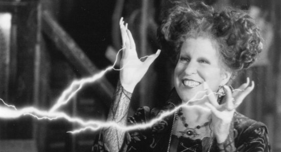 Bette Midler was great in Hocus Pocus