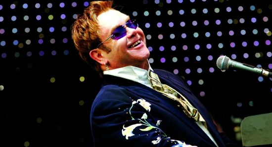 Elton John collaborated on the album