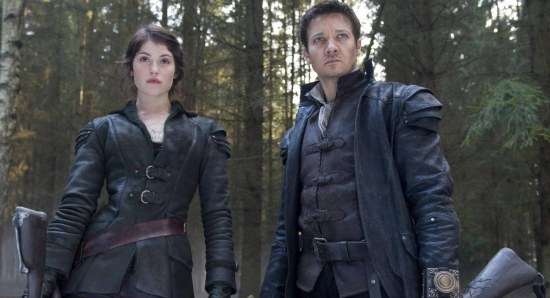 Gemma Arterton and Jeremy Renner in Hansel and Gretel Witch Hunters