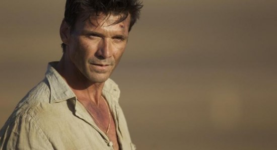 Frank Grillo shows off his acting skills