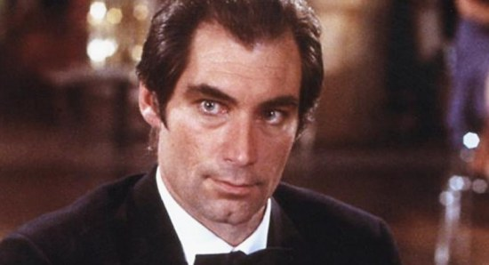 Timothy Dalton best known for the role