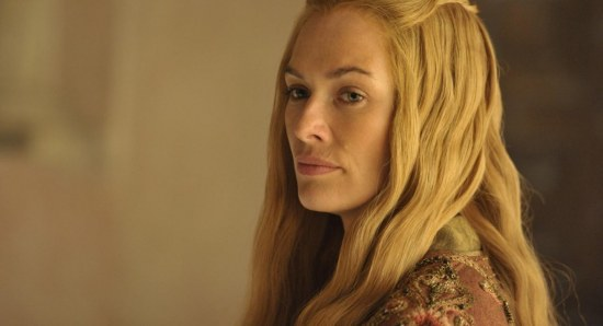 Lena Headey plays Cersei Lannister in Game of Thrones