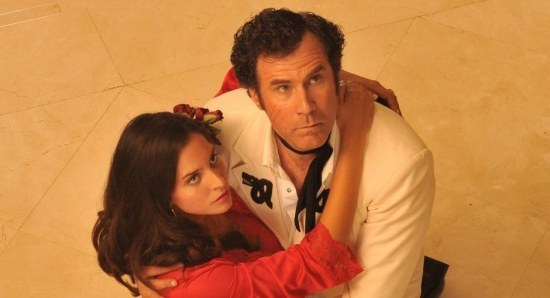 Genesis Rodriguez and Will Ferrell in 'Casa de Mi Padre'