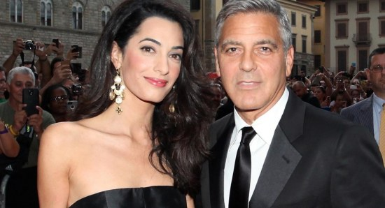 Will Amal Clooney appear in a George Clooney movie?