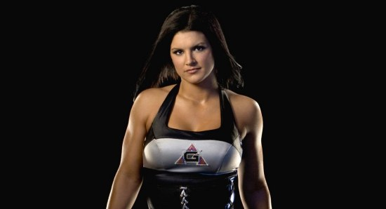 Gina Carano looking ready to fight