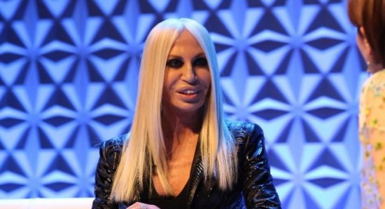Gina plays Donatella Versace in the Lifetime movie 'House of Versace'