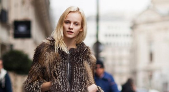 Ginta Lapina looking sophisticated