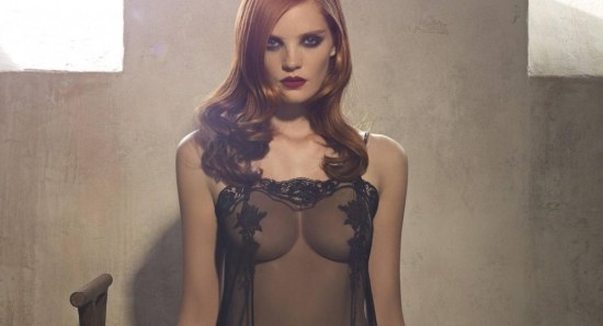 Girl of the Day: Beautiful British model Alexina Graham