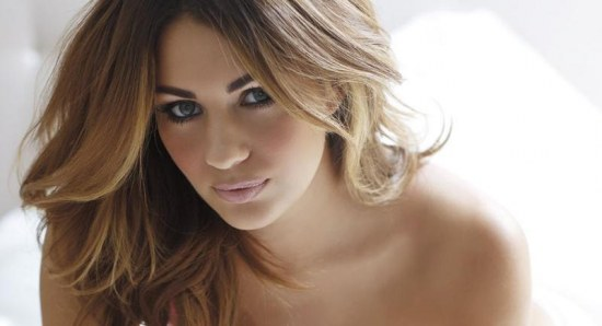 Holly Peers is a beautiful woman