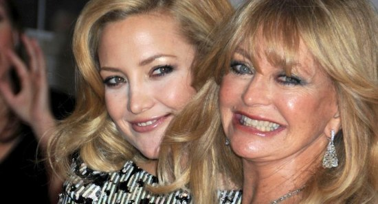 Goldie Hawn with Kate Hudson